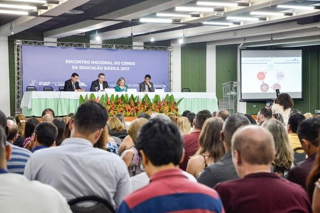 PB sedia 'Encontro Nacional do Censo da Educação Básica 2017'