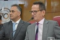 Solenidade reuniu vereadores, prefeito e vice da capital, secretários de governo e representantes da sociedade civil e organizada
